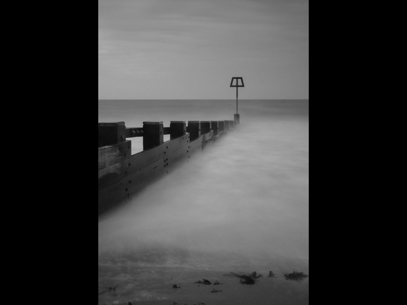 SWANAGE GROYNE by Claire Williams