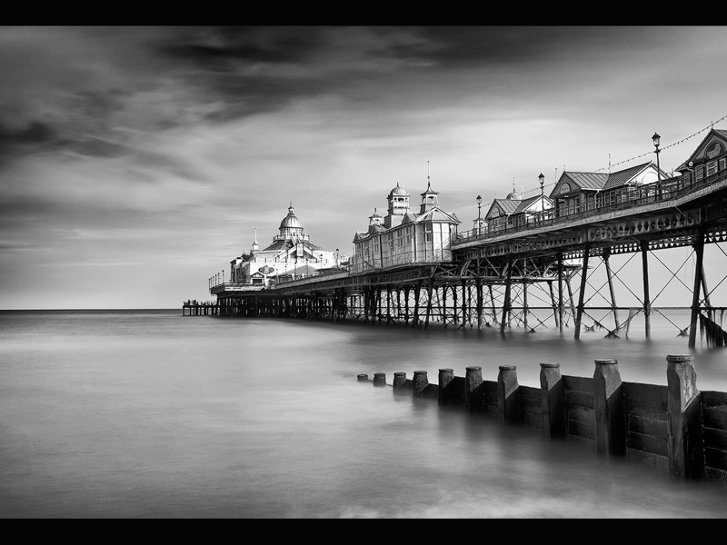 EASTBOURNE PIER by Allan Marshall