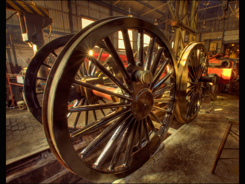 DIDCOT ENGINE WORKSHOP by Allan Marshall